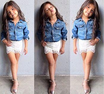 ropa de niña de moda - Buscar con Google