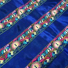 Miao borduurwerk satijn lace trim jurk kraag lint tape singels etnische tribal nepal thai india boho diy accessoires(China (Mainland))