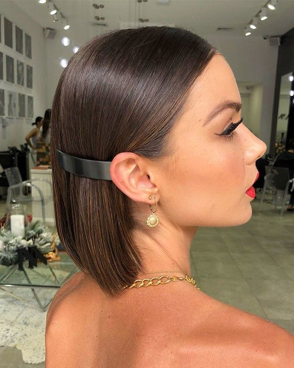 Wedding Hairstyles For Short Hair 2019 Polished Hair