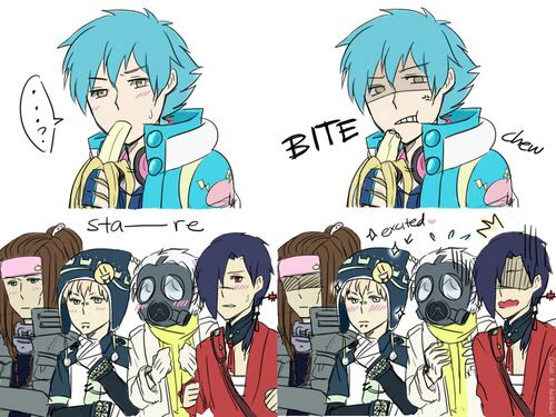 DRAMAtical Murder ~~ Aoba is keeping them in suspense!