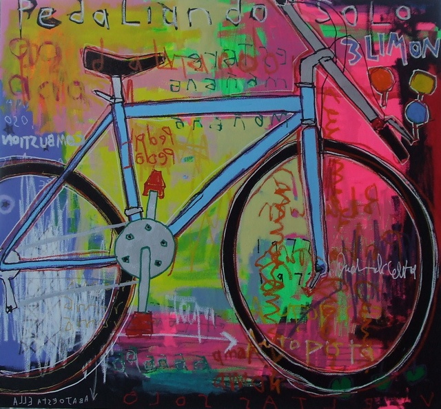 "Leonardo Pineda ""bicicleta 2"""