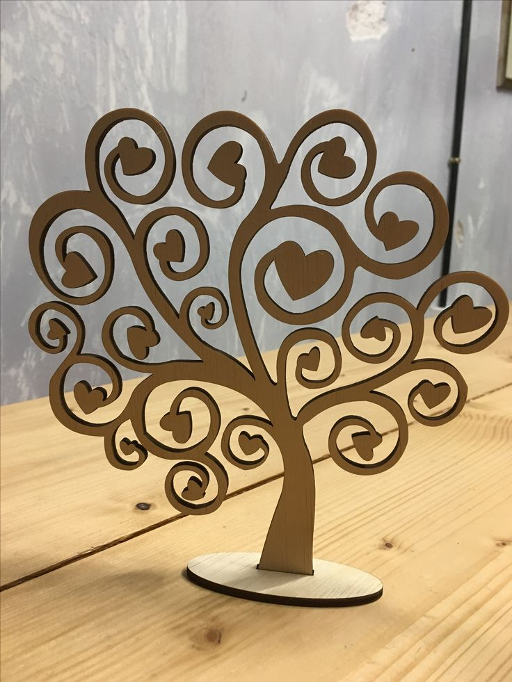 Laser cut wooden designs and crafts