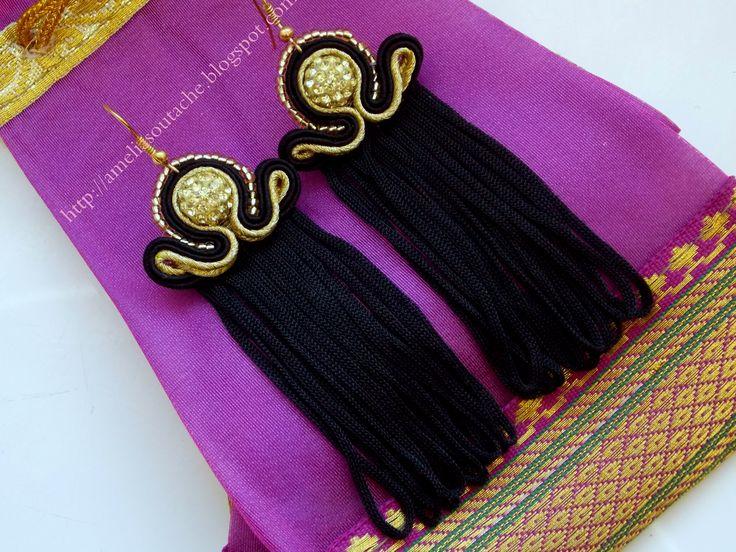 http://allegro.pl/piekne-kolczyki-fredzle-sutasz-blog-hit-wiosna-i5210891543.html #earnings #JewelrySoutache #sutasz #soutache #fasion #HandmadeJewelry