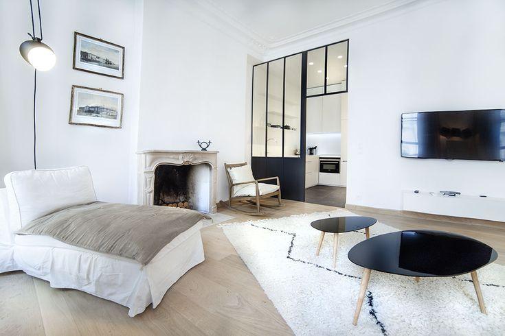 rénovation appartement rue saint André des arts