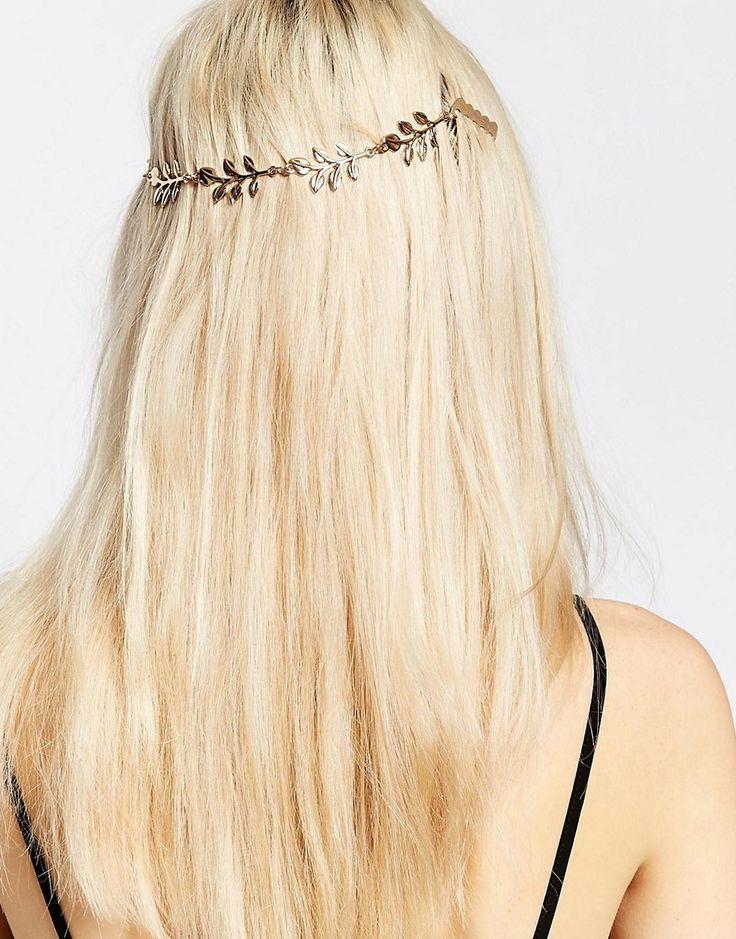Bild 1 von Monki – Haarschmuck mit Blattdesign