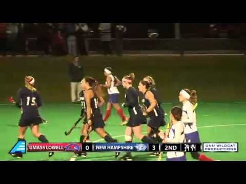 UNH Field Hockey vs UMass Lowell (10/25/13)