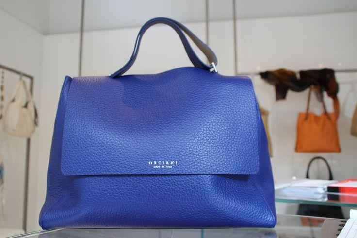 #SvevaBag in blu!  #Orciani #Leaboutique