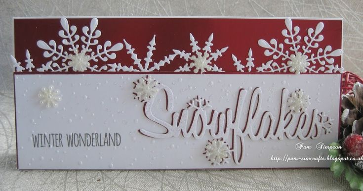 Good morning everyone, Well I`m carrying on making Christmas cards..ready for 2018.. I purchased DL size envelopes last year and decided...