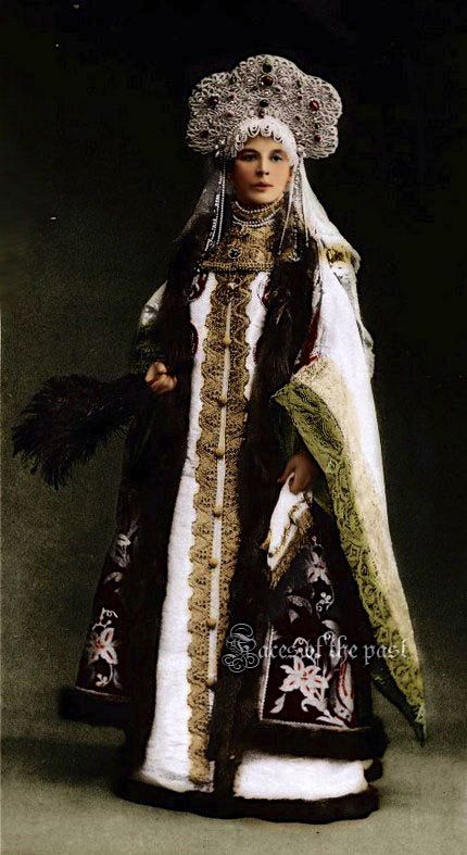 Countess Sofia Alexandrovna Ferzen at the Winter Palace Costume Ball, St. Petersburg, 1903. by ~VelkokneznaMaria.