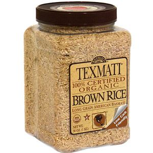 #WalmartGreen  Texmati Organic Brown Rice, 36 oz (Pack of 4)