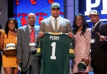 Nick Perry, newest member of the Packers