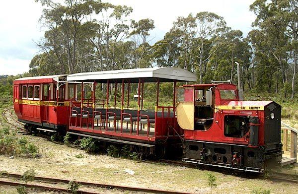Ida Bay Railway in the south of Tasmania.  Article & photo by Allegra Biggs Dale & Meg Thornton.