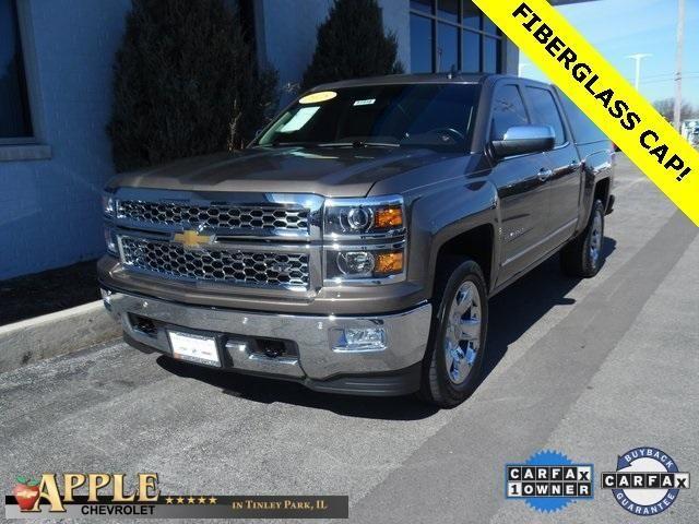 2015 Chevrolet Silverado 1500 LTZ - Certified - Stk # 52946 - $36,997 - http://www.applechevy.com/VehicleDetails/certified-2015-Chevrolet-Silverado_1500-Crew_Cab_Short_Box_4_Wheel_Drive_LTZ-Tinley_Park-IL/2950762893