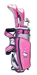 Junior Golf Set Ages 3-5 by Hello Kitty.  Buy it @ ReadyGolf.com