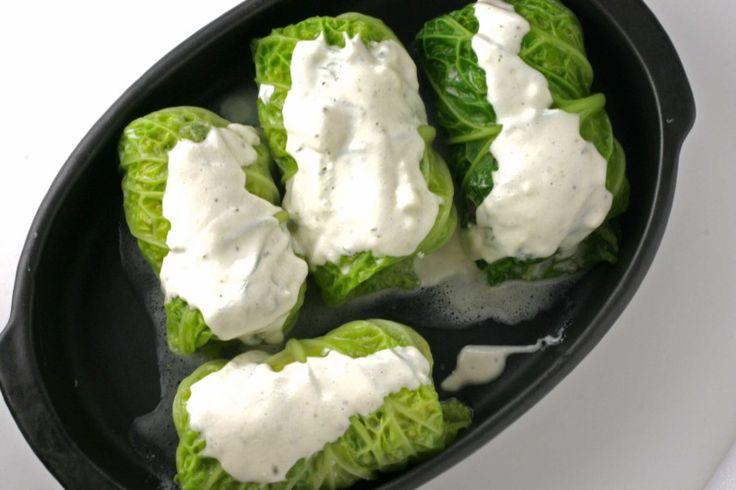 Gevulde kool met boursin | www.keukenrevolutie.be