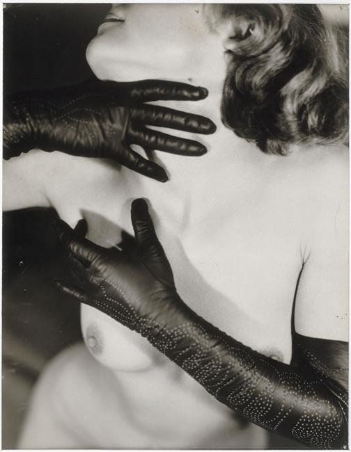 """""""Nude with Gloves"""" by Germaine Krull"""