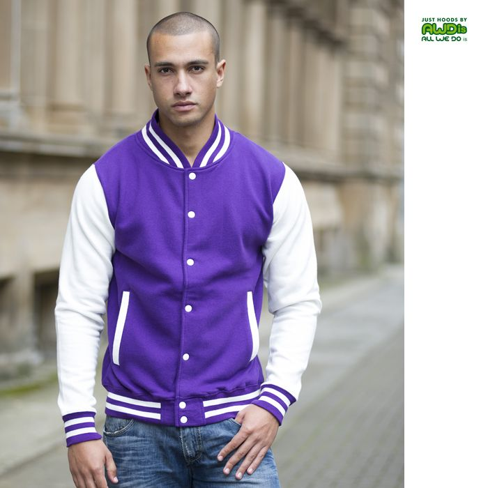 cool AWDis Varsity Jacket Check more at http://www.relationreminder.se/produktinfo/awdis-varsity-jacket