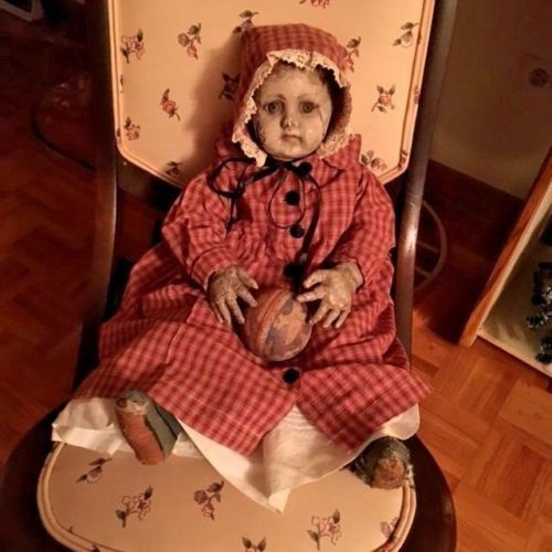 antique-doll-cloth-LOT-early-american-alabama-baby-ella-smith-FIRST-VERSION