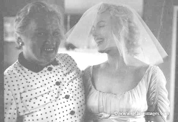 Milton Greene, Marilyn Monroe, Miller wedding sitting