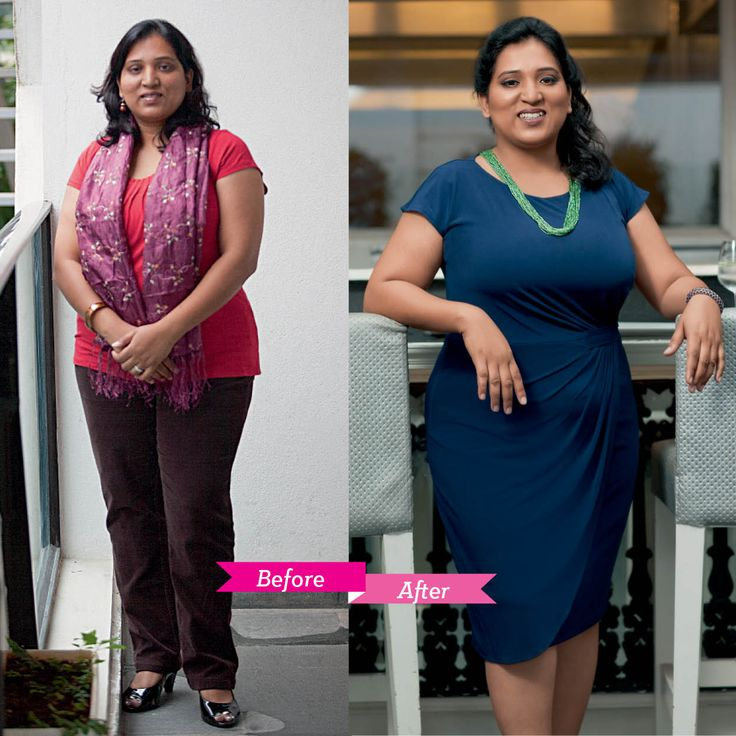 'The makeover made me feel beautiful and empowered, and it gave me the confidence to dress up in clothes that I dreaded wearing earlier due to my large size.Thank you GH' -- Lakshmi Kolnaty, Admissions Counselor  GH Style Tip: Lakshmi's voluptuous figure was styled in a dress cinched at the waist to give her curves better definition. The short neck piece helps draw attention northwards, instead of her lower body.