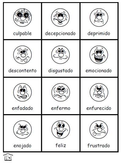 spanish emociones - Google Search