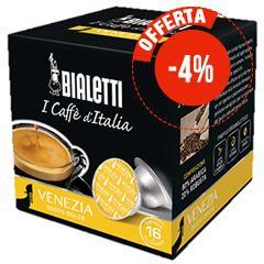 16 CAPSULE BIALETTI I CAFFÈ D'ITALIA VENEZIA