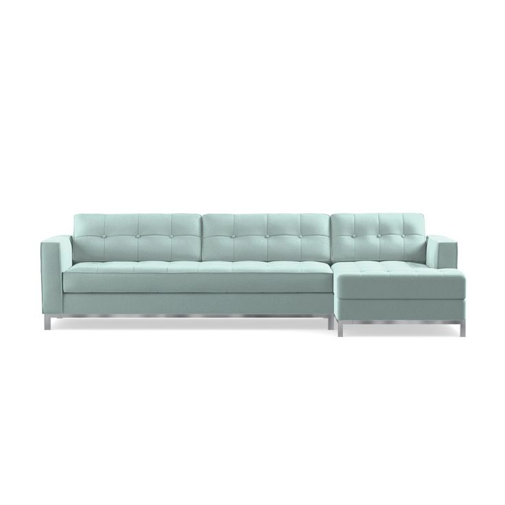 The Fillmore 2 Piece Sleeper Sectional Is Most Contemporary Sofa Bed On Market