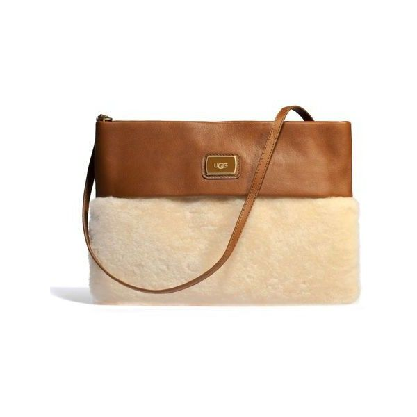 ugg nico sheepskin clutch