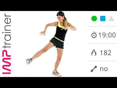 Esercizi Per l'Esterno Coscia, Allenamento a Corpo Libero - YouTube