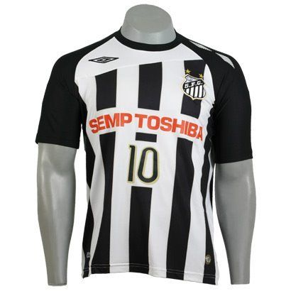 Santos Away 2008 [Umbro]:  T-Shirt, Football, Shirts,  Tees Shirts, South America, 2008 Umbro, Saints, Jersey South, Soccer Shirts