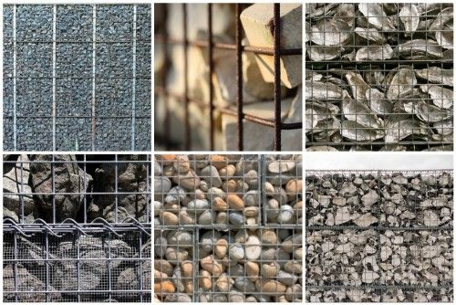 Gabions can even be filled with oyster shells!