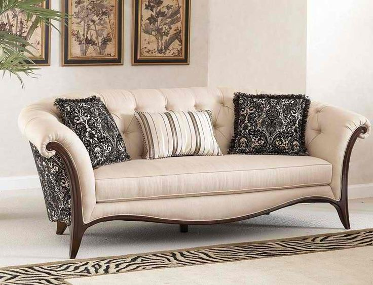 Wood Trim Furniture | Furniture Sofa Set Wooden New Design: Fabric Sofa  Chaise Set New
