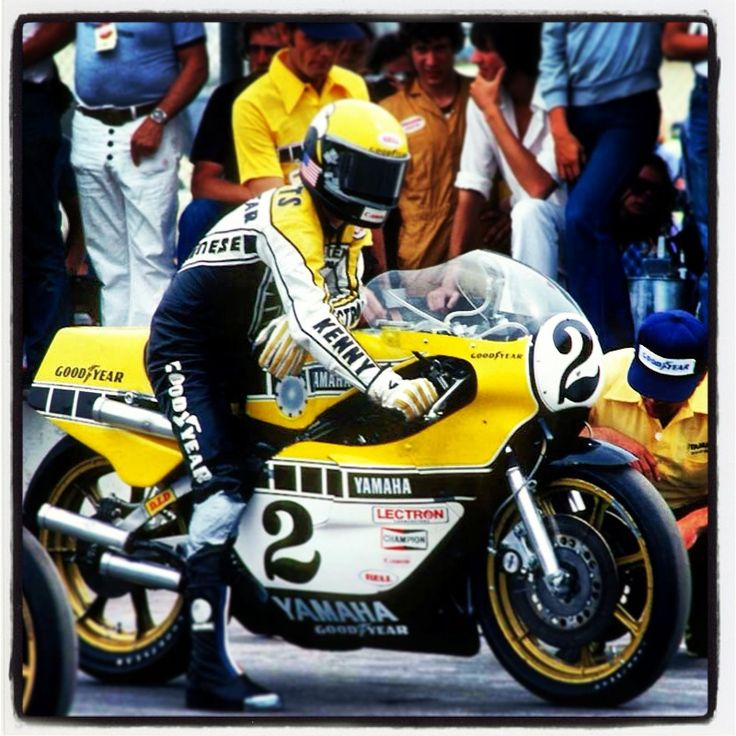 Kenny Roberts - Yamaha Road Racing