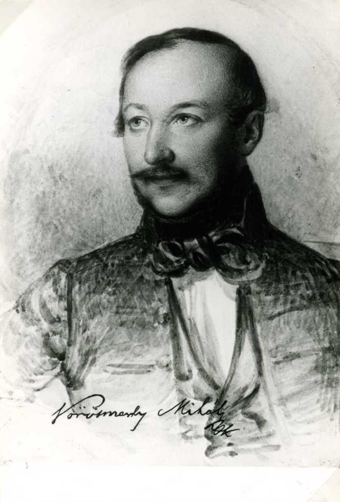 Vörösmarty Mihály (Pusztanyék, 1800. december 1. – Pest, 1855. november 19.)
