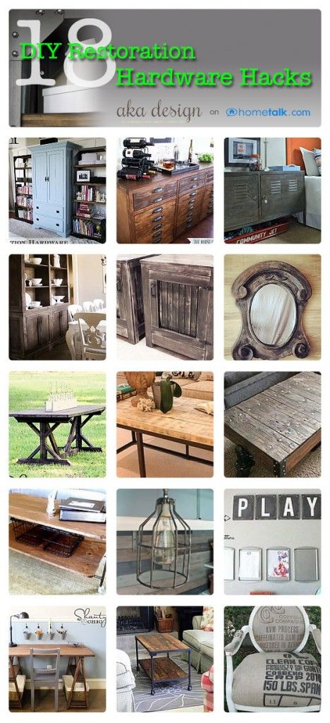 Who loves Restoration Hardware Hacks? We've seen some good ones - including one of our own!