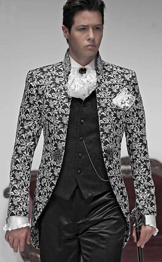 Italian wedding suits, model: B01-(528)