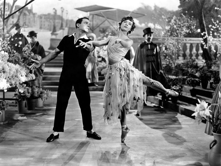 An American in ParisMusic, Film, Classic Movie, Paris 1951, American, Leslie Caron, Hollywood, Dance, Gene Kelly