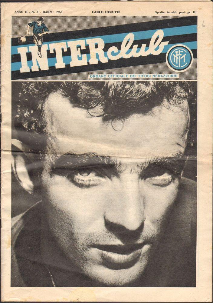 INTER CLUB ANNO II MARZO 1963-RARA