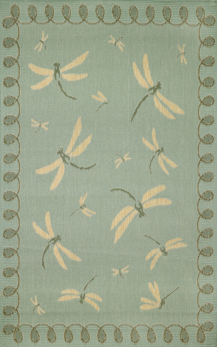 73 best rugs for my home images on pinterest blue and white terrace dragon fly aqua contemporary design indoor outdoor rug