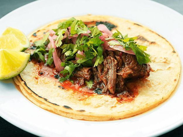 This crazy tender barbacoa with oxtails and a blend of fruity chilis puts the fast food version to shame.