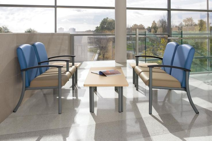GLOBALcare Strand Seating and Belong Table Healthcare