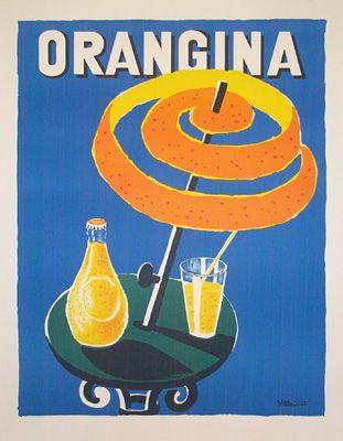 vintage Orangina
