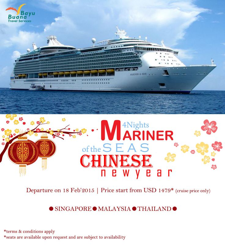 Celebrate this Chinese New Year with our Cruise Holidays Package ^^