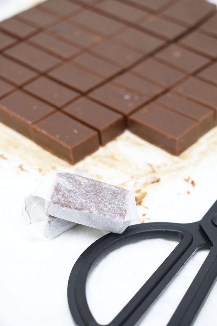 Mjölkchokladkola   Bakverk och Fikastunder