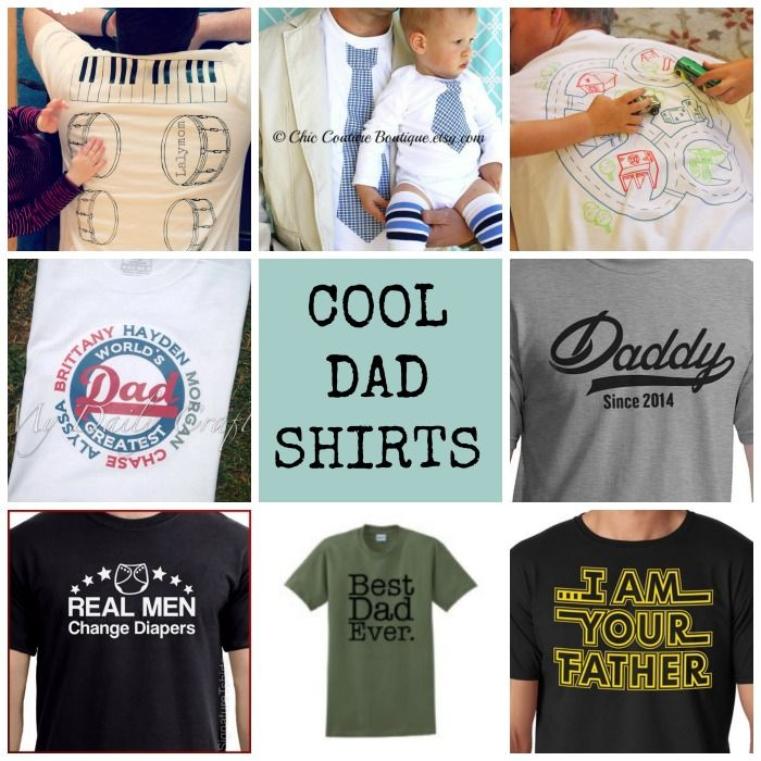 The 25 best fathers day t shirts ideas on pinterest fathers gift ideas for dad 20 fathers day t shirts to diy or buy solutioingenieria Gallery