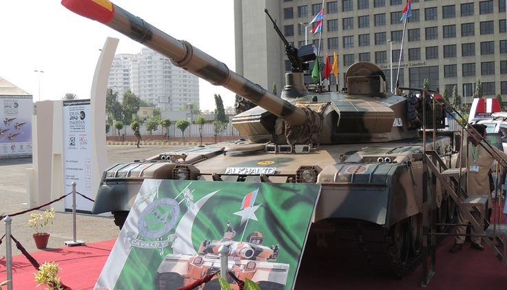 Pakistan to Upgrade Al Khalid Tank Engines