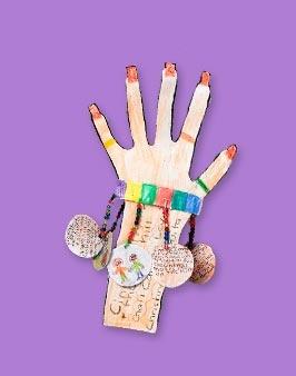 Charm bracelet-Cute idea for book report