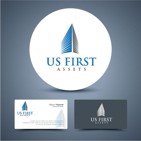 Create a powerful logo for our real estate investment group - US First Assets. by BigStar