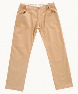Camel Twill Summer Pants