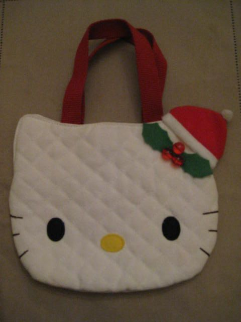 Never Used Hello Kitty White Quilted by vtseredipityboutique